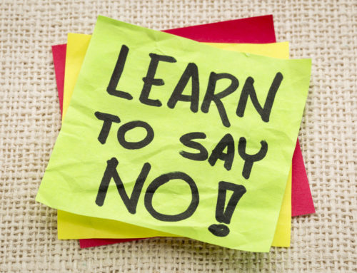 "Just Say ""No""! 